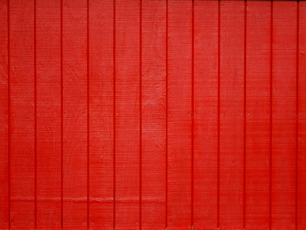 Painted Red Wood Texture