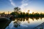 Fort Wayne Spring Sunset 2014