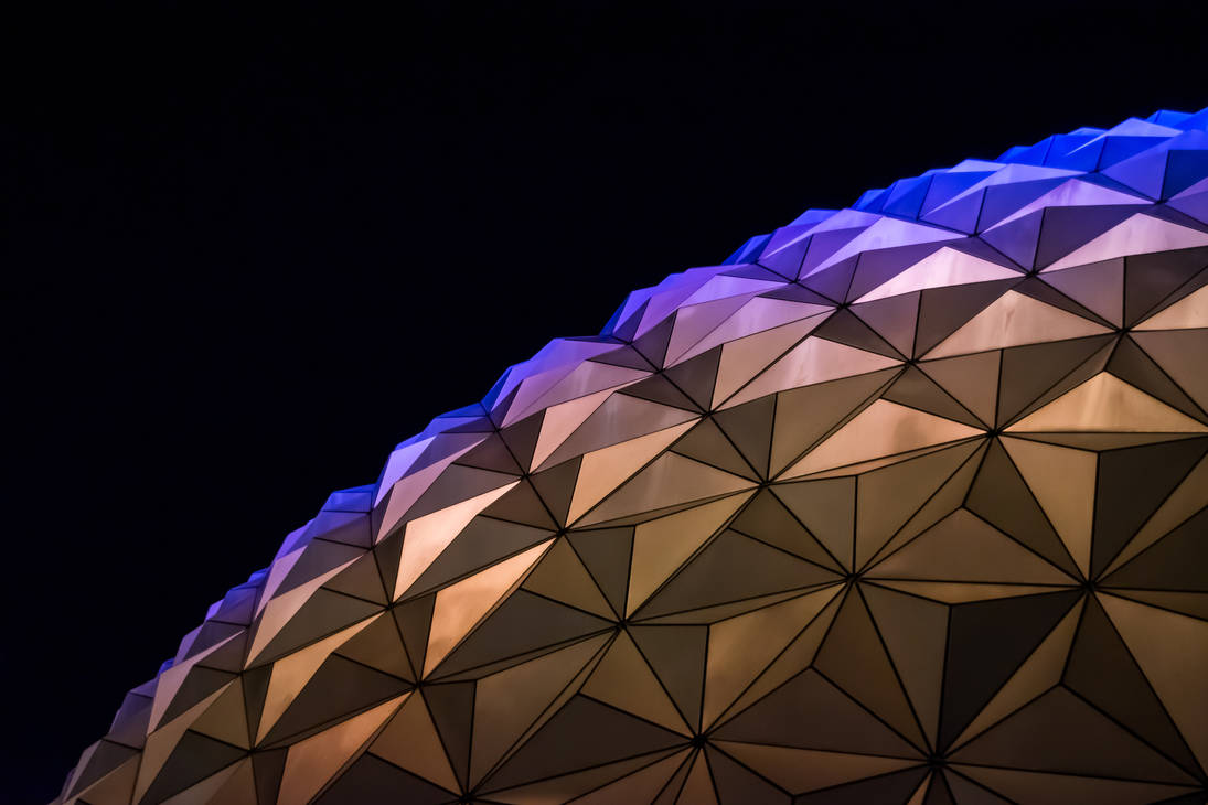 Even More Spaceship Earth Wallpaper by redwolf518