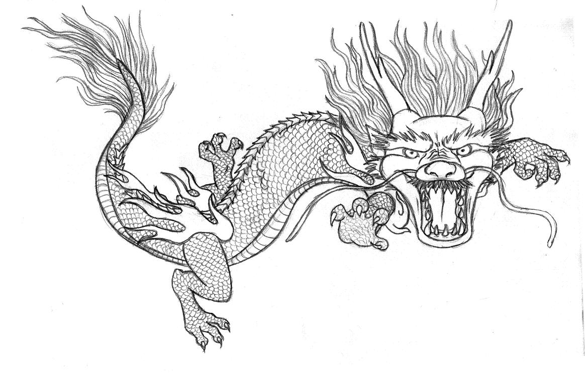 free printable chinese dragon coloring pages - new update 21 10 2009 nairasart