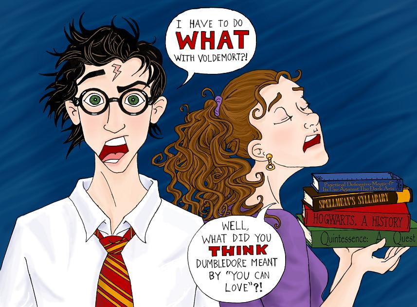 Harry's Last Task by clockworkparadox