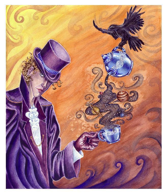 Cosmic Tea by clockworkparadox
