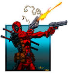 Deadpool by Cruddie and FIG