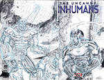 The Uncanny Inhumans Sketch Cover