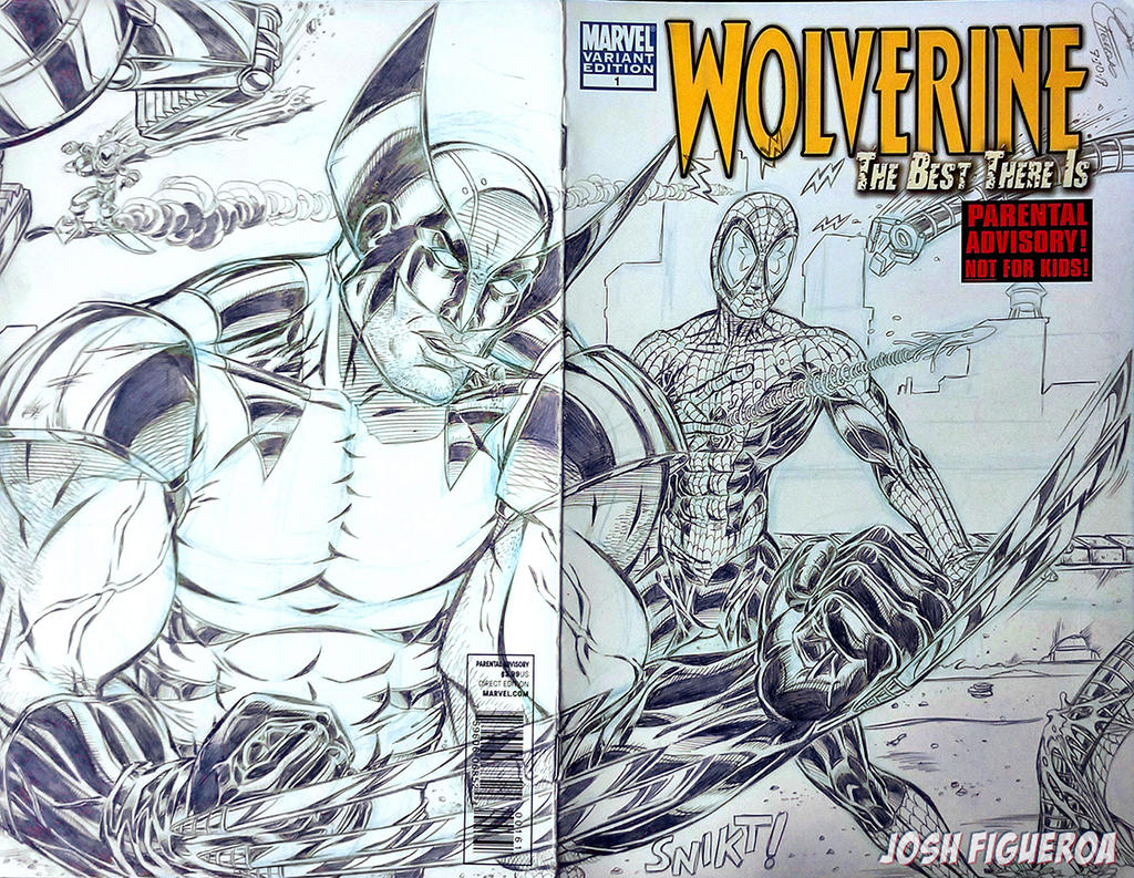 Wolverine Sketch Cover Commission