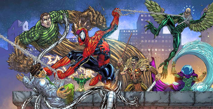 Spiderman vs the Sinister Six 2.0