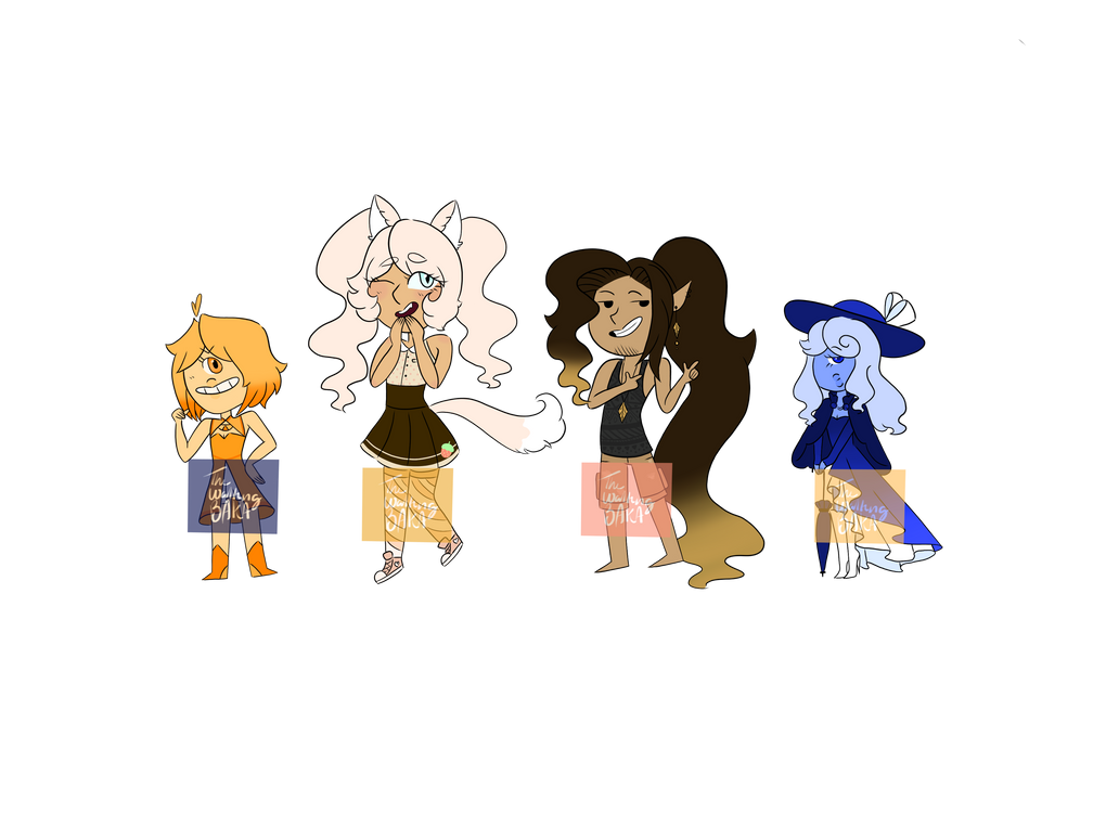 Redesigned Adopts (3/4 OPEN) by TheWalkingBaka