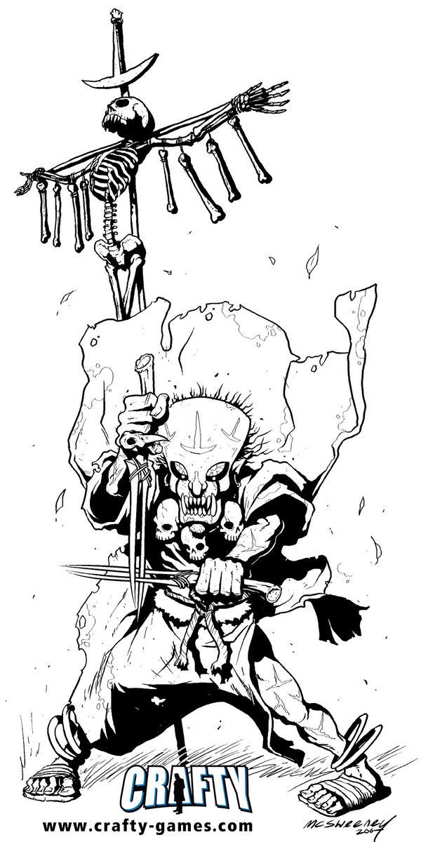 FantasyCraft - Priest by Inkthinker