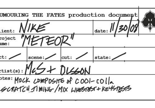 Nike 'Meteor' by Inkthinker