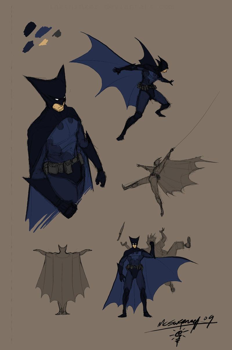 Batman redesign by Inkthinker