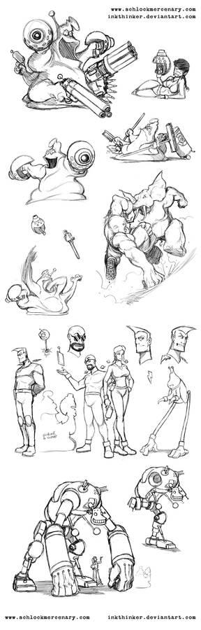 Schlock Sketches