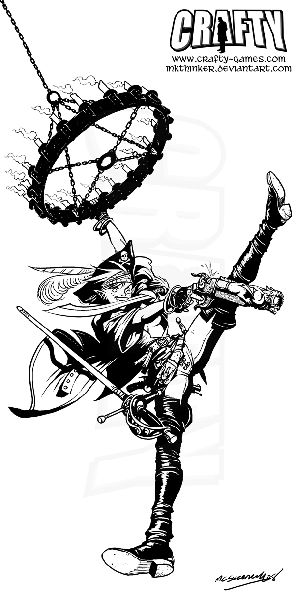 FantasyCraft - Swashbuckler by Inkthinker