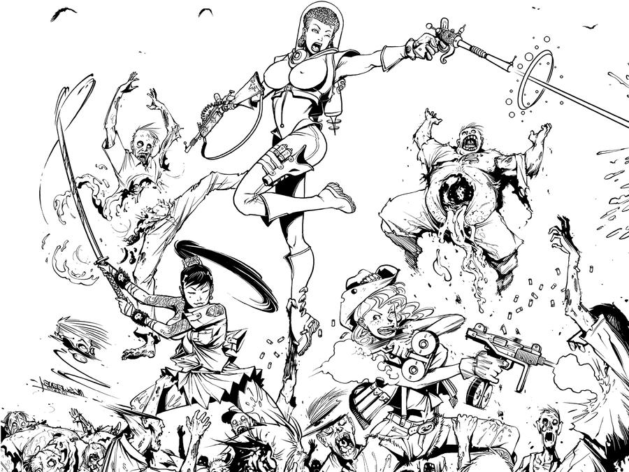 ZombieBomb detail by Inkthinker