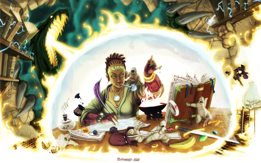 Spellbound Cover by Inkthinker