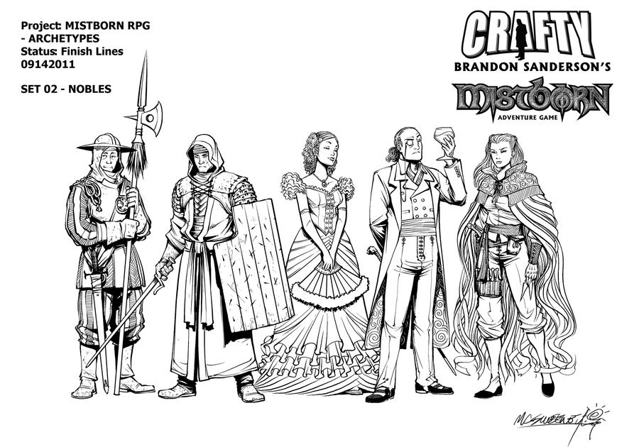 Mistborn Adventure Game - The Nobles by Inkthinker