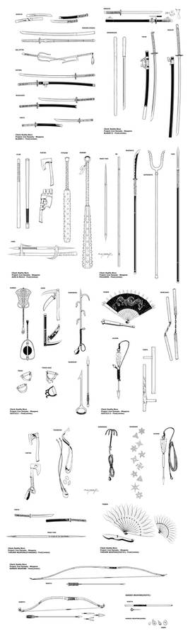 Iron Dynasty Weapons