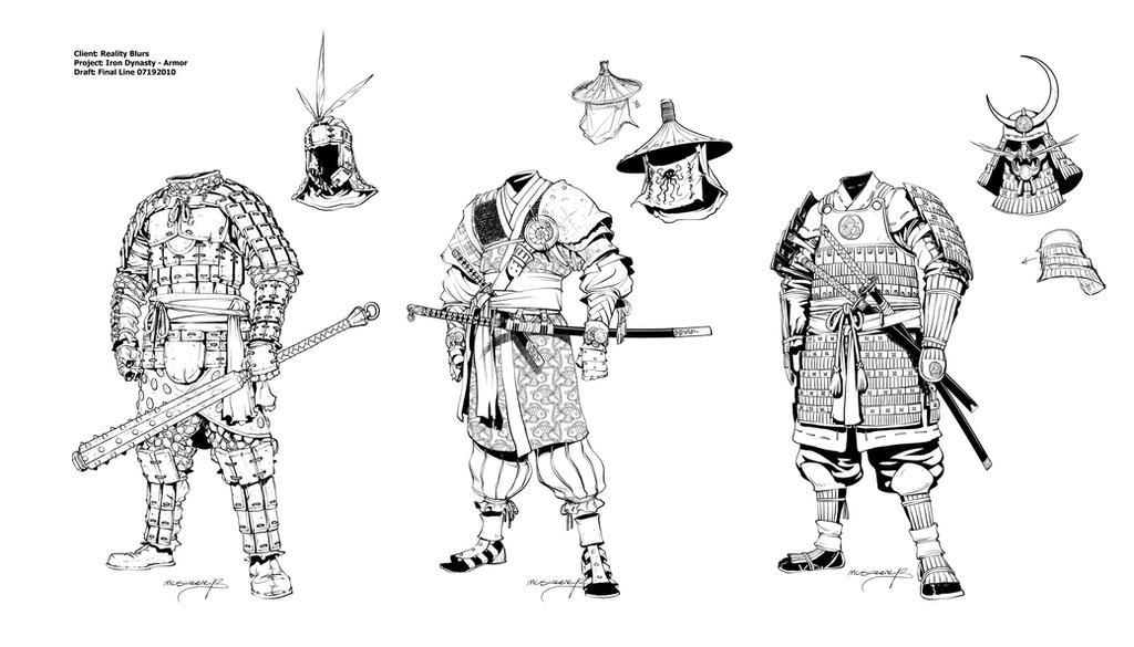 Iron Dynasty Armor III by Inkthinker