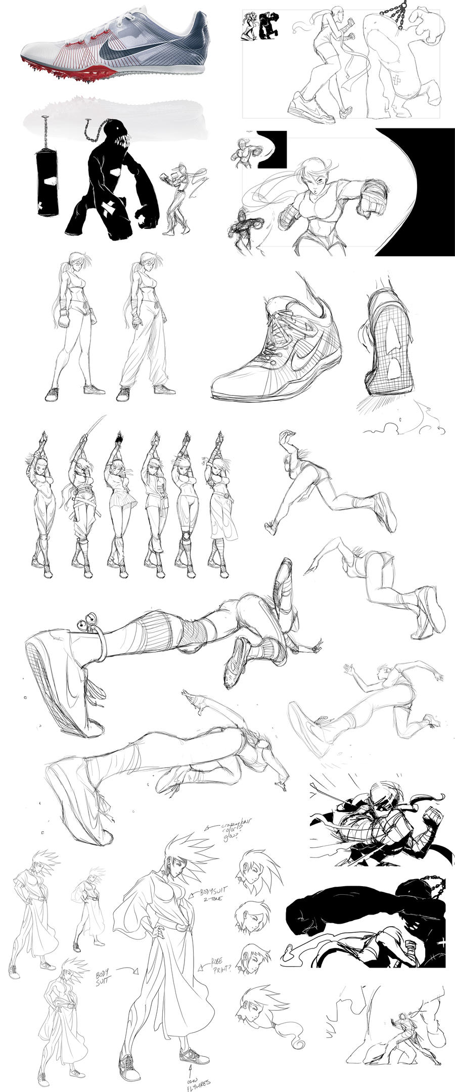 OLD WORK - Nike Mishmash by Inkthinker
