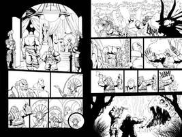Skullkickers Online - 'The Beholder' 01-02 by Inkthinker