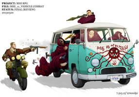 MHI - Vehicle Combat by Inkthinker