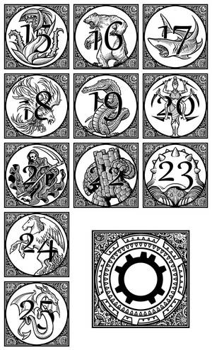 The Rithmatist - Chapter Headings B
