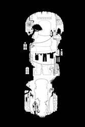 The Gutter by Inkthinker