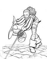 OLD WORK - Swashbuckler by Inkthinker