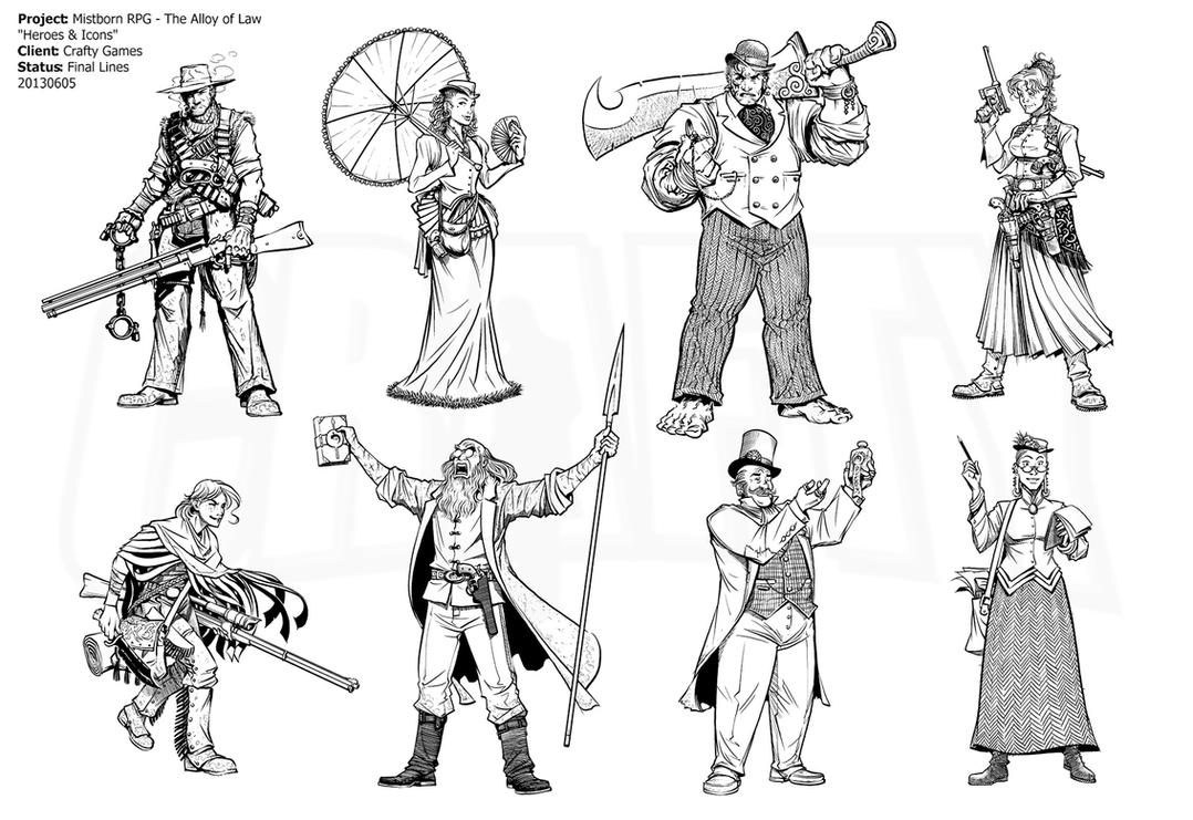 Mistborn RPG - Alloy Heroic Archetypes by Inkthinker on ...