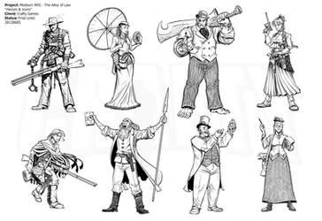 Mistborn RPG - Alloy Heroic Archetypes by Inkthinker
