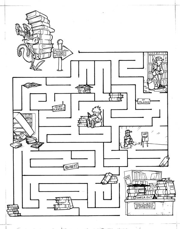 mazes for 8 year olds printable pdf