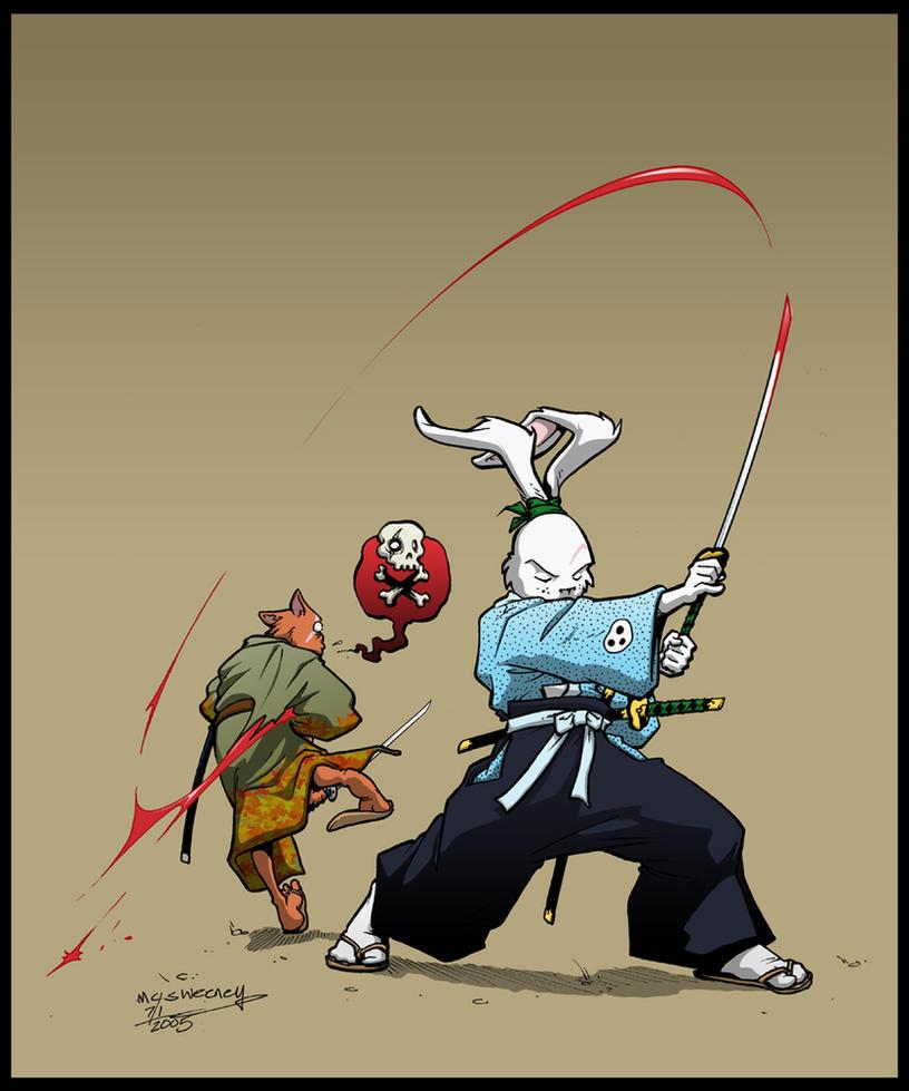 Usagi Yojimbo by Inkthinker