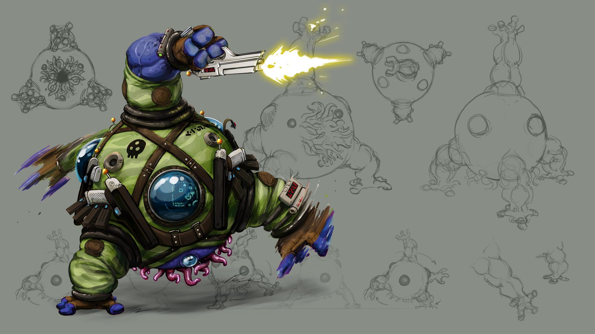 Planet Mercenary RPG - The Queltro by Inkthinker