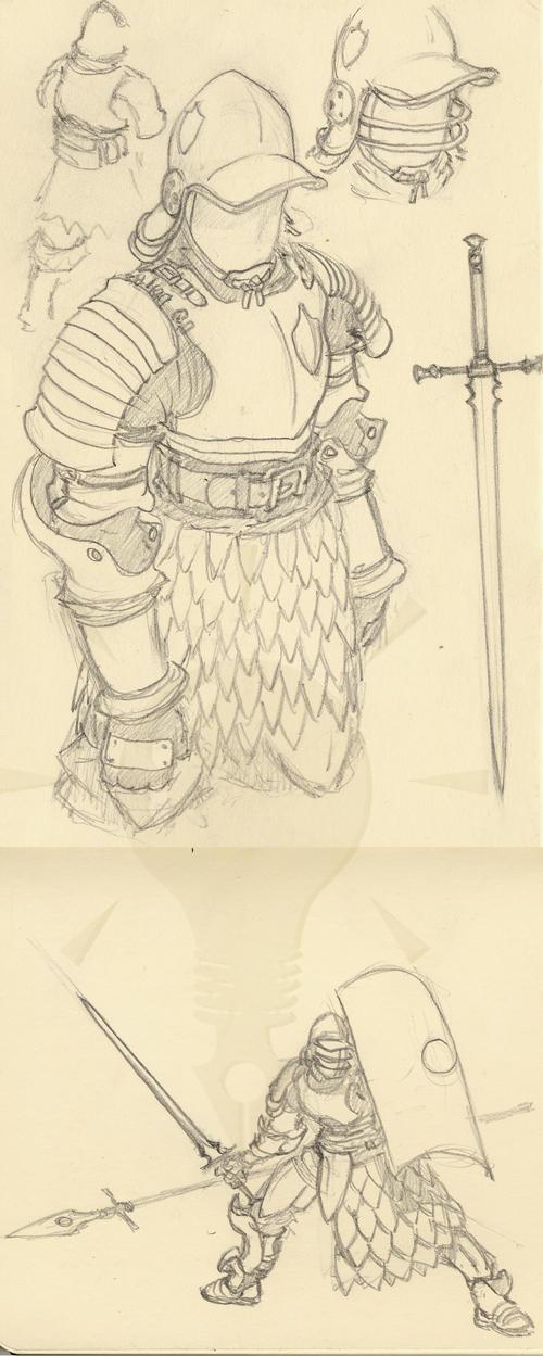 Watchman's Armor by Inkthinker