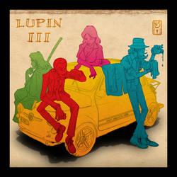 Lupin III cover by Inkthinker