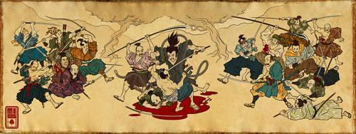 The Ronin Scroll by Inkthinker