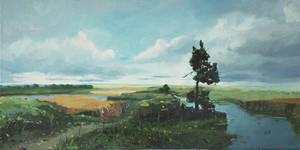 Lowlands landscape