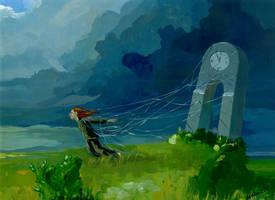 Storm time flight by morda-creap