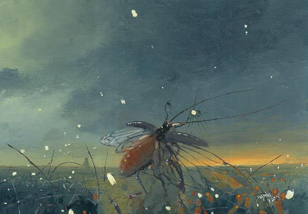 Beetle night by morda-creap