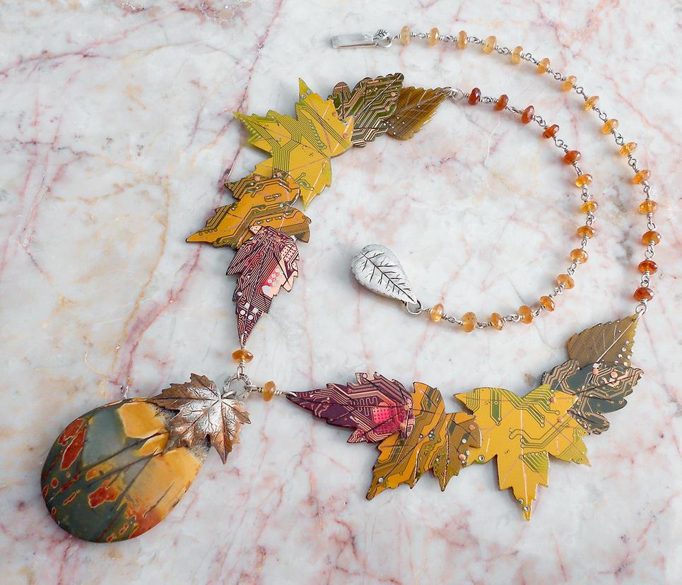 Fall leaves by thebluekraken