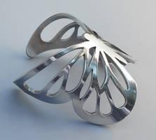 butterfly cuff by thebluekraken