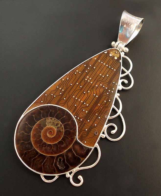 Hinged bail ammonite pendant by thebluekraken on deviantart hinged bail ammonite pendant by thebluekraken aloadofball Images