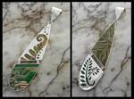 Fiddle Head Pendant