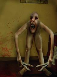 The Long-Legged Scissor-Man by DorkDuchessDebbie