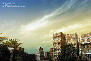 Friday in Old Sana'a City by prespective