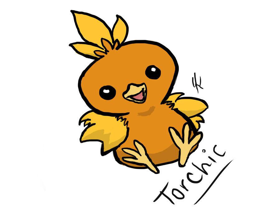 Torchic by xSammyKayx