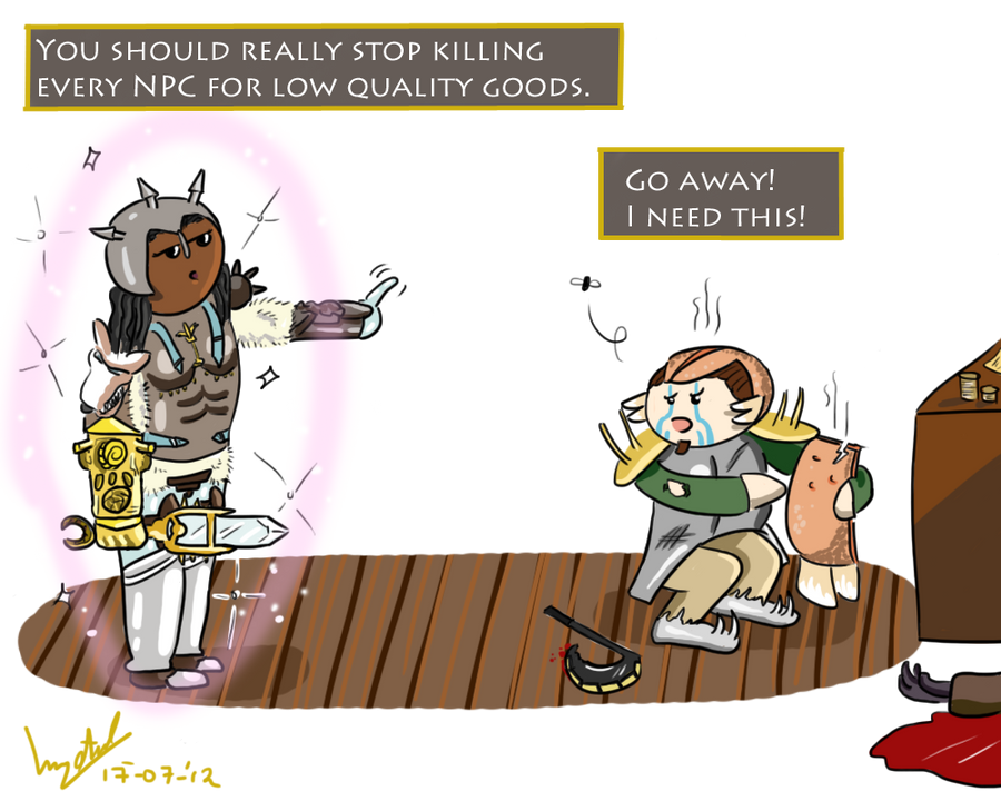 Morrowind Lore - Day 3 - Levelling up. by Retro-Death on DeviantArt