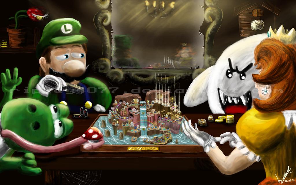 Mario Party 5 by Retro-Death
