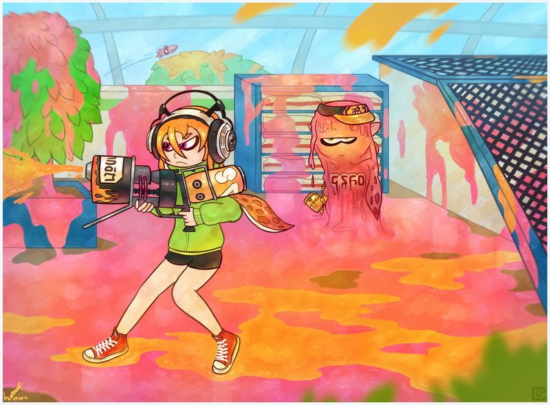 (Collab) Splatoon: Invasive Procedure! by Retro-Death