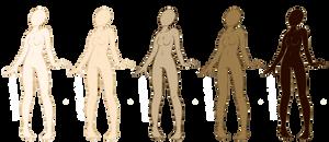 Female Human Bases - FREE