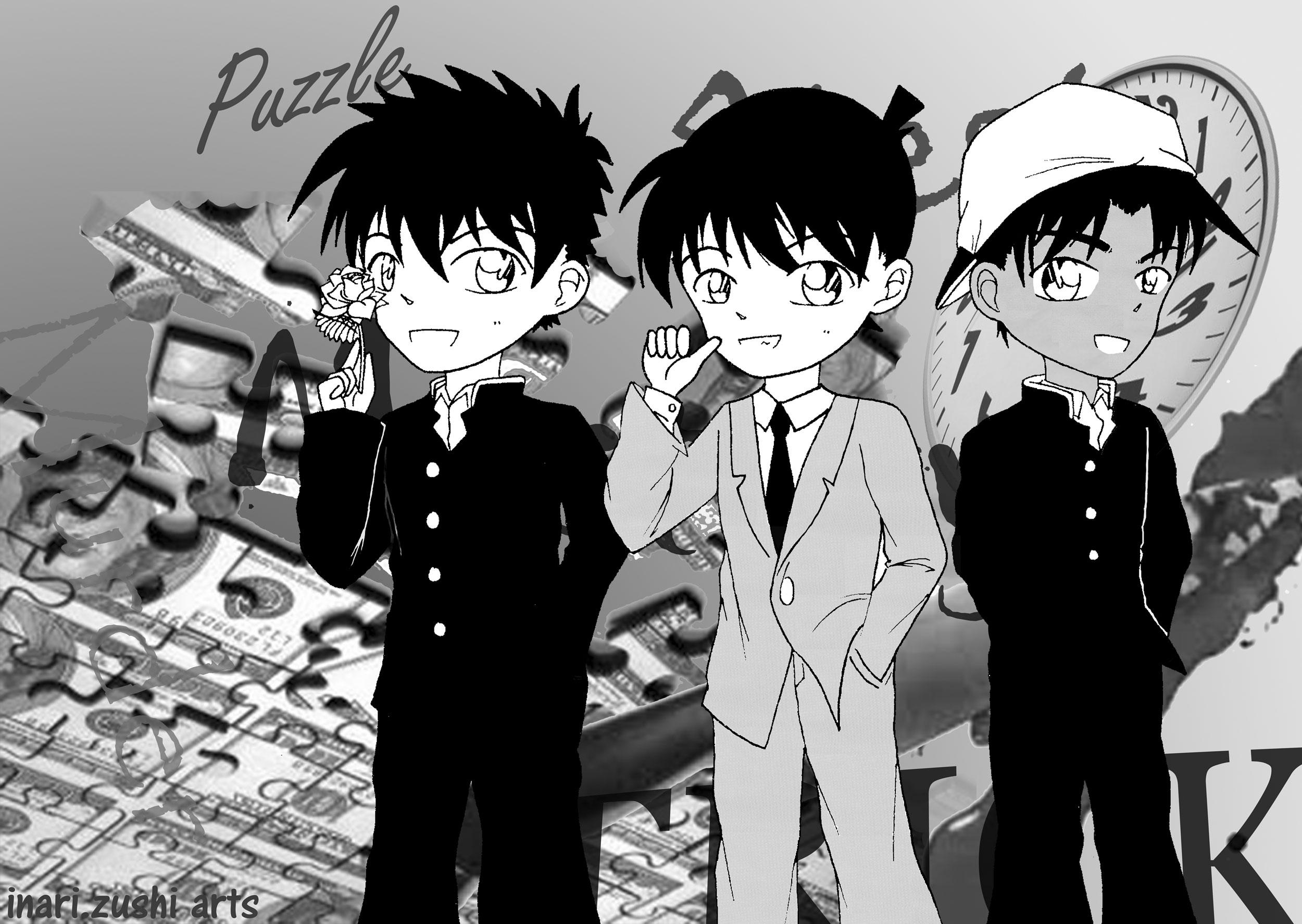 Ảnh DC dễ thương đây(xem nhanh kẻo hết^_^) Kaito_Shinichi_Heiji_by_Inari_Iva